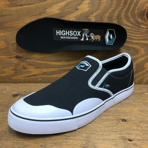 (ラスト27.5cm)CONSOLIDATED x HIGHSOX BS DRUNK 5 CANVAS SLIP ON CUBE