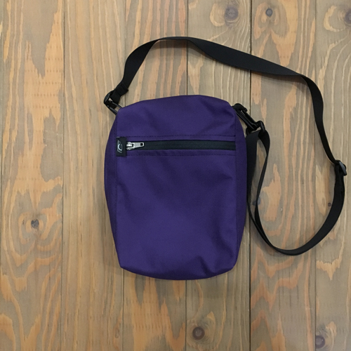 COMA BRAND SHOULDER BAG PURPLE/BLACK