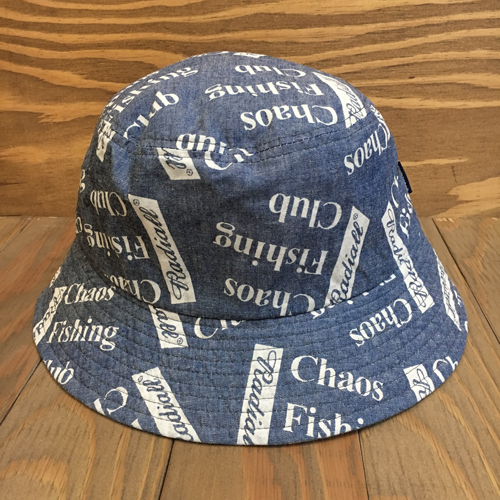 CHAOS FISHING CLUB x RADIALL BLUE HOURS BUCKET HAT INDIGO