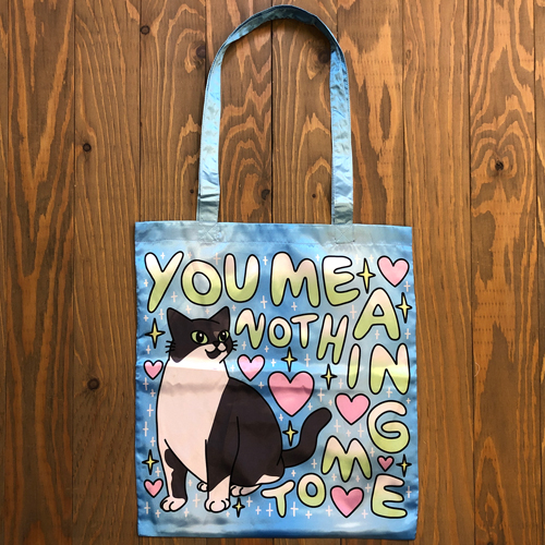 LEON KARSSEN WHAT YOU MEANTO ME BAG BLUE