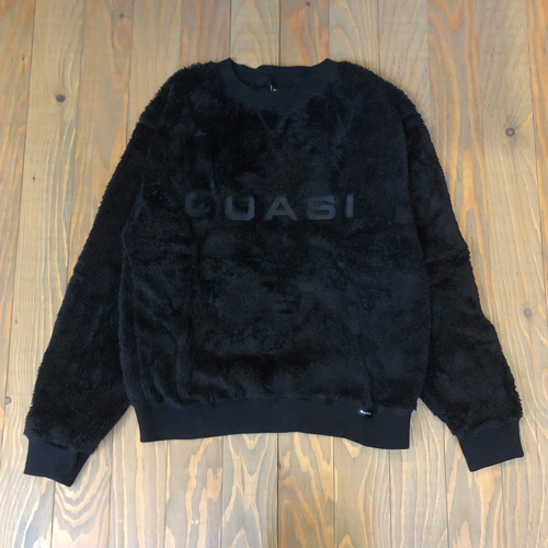 QUASI C7 MO CREW SWEAT BLACK