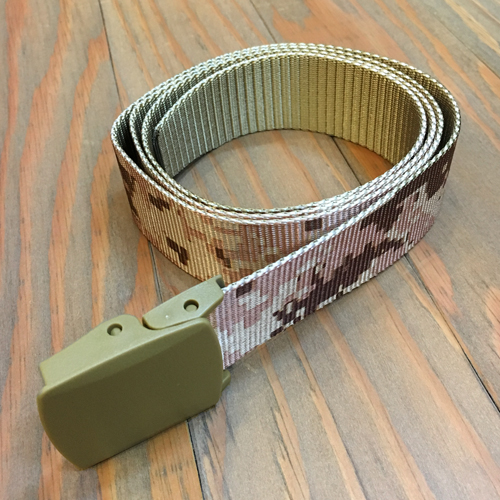 BLUTH NYLON BELT CAMO TAN