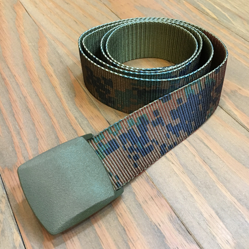 BLUTH NYLON BELT CAMO GREEN