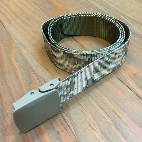 BLUTH NYLON BELT CAMO GREY