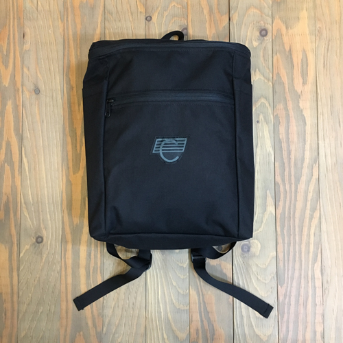 COMA BACKPACKS BLACK/GREY LOGO