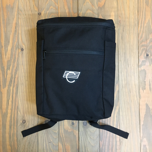 COMA BACKPACKS BLACK/WHITE LOGO