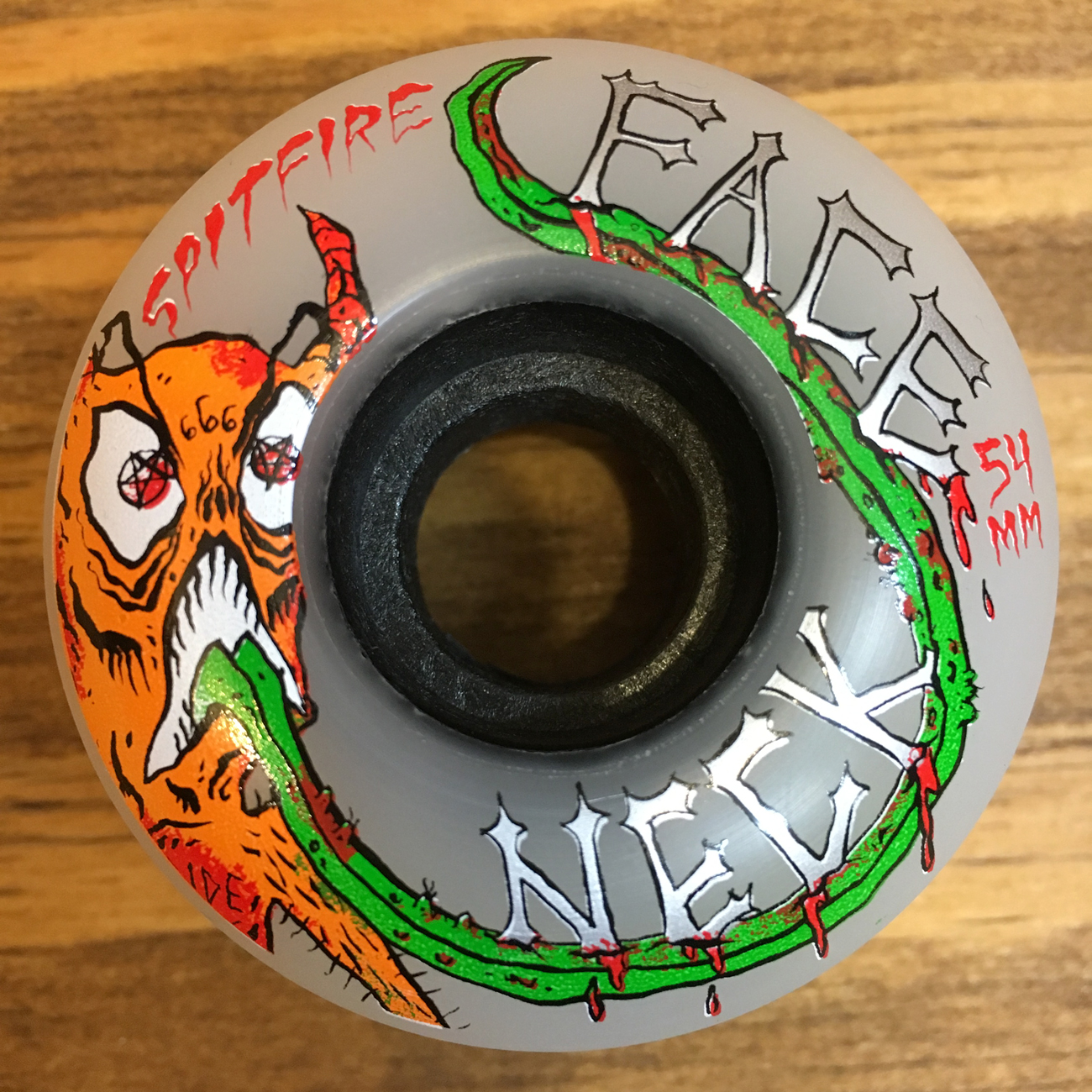 SPITFIRE x NECKFACE CLASSIC CLEAR 80HD 54mm
