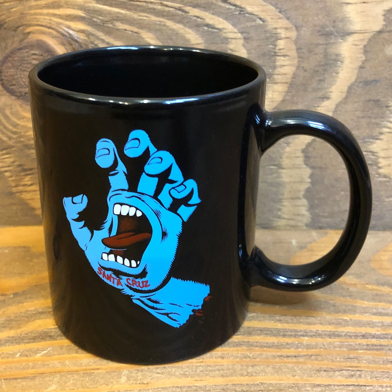 SANTA CRUZ SCREAMING HAND MUG BLACK