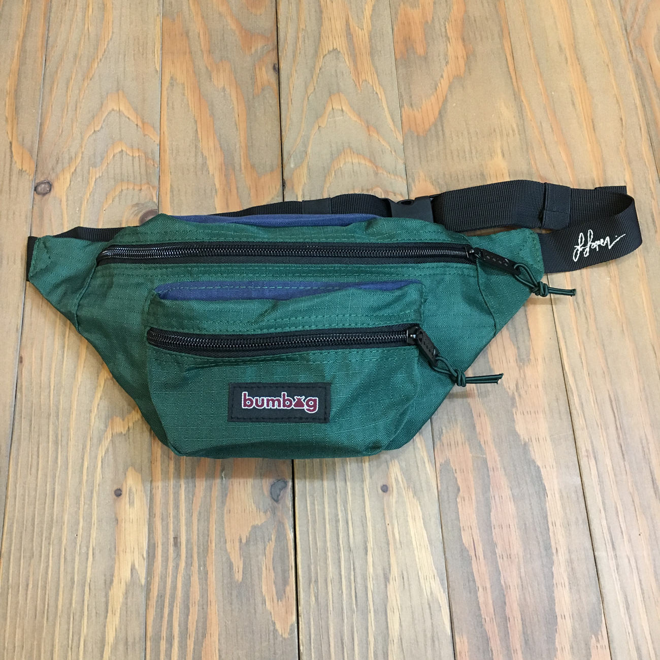 BUMBAG LOUIE LOPEZ HYBRID BASIC FOREST GREEN & NAVY