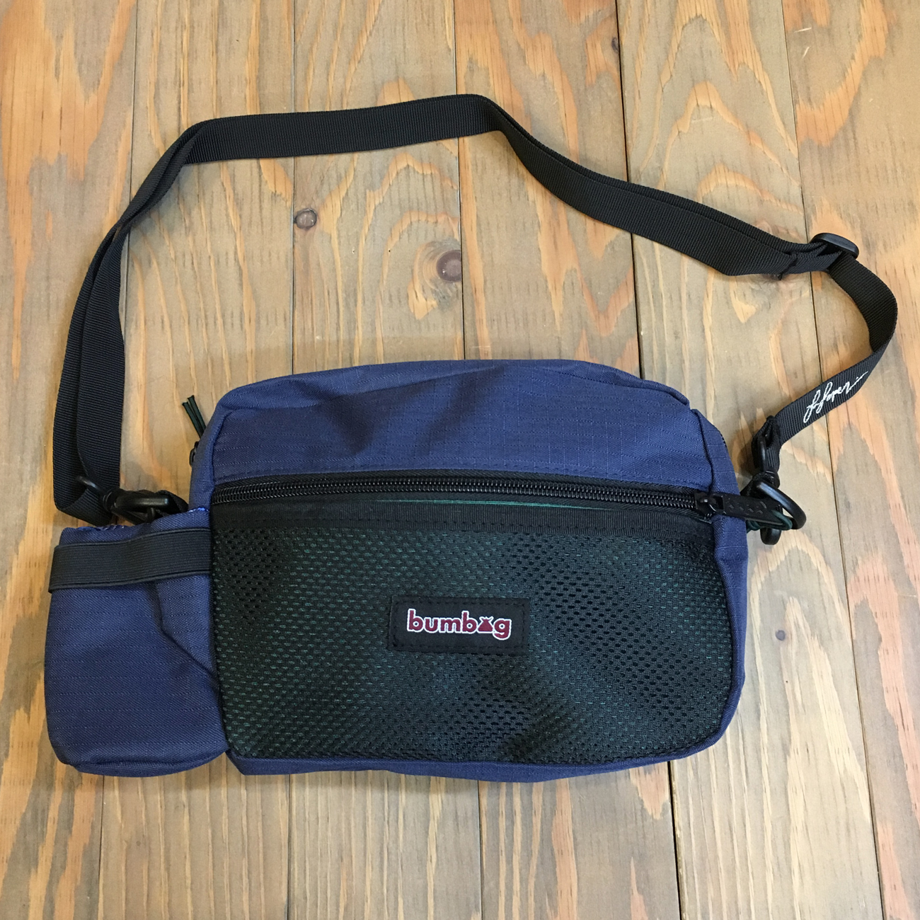 BUMBAG LOUIE LOPEZ COMPACT XL FOREST GREEN & NAVY