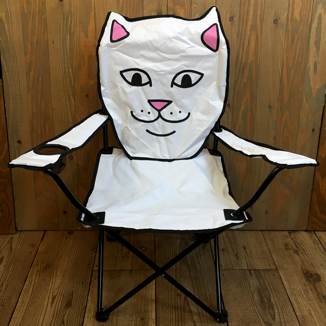 RIPNDIP LORD NERMAL BEACH CHAIR WHITE