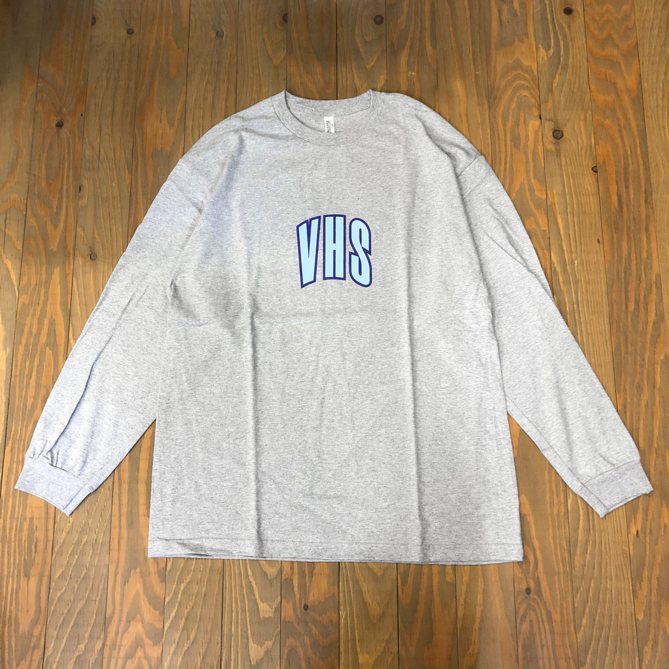 VHSMAG VHS L/S TEE ATHLETIC HEATHER