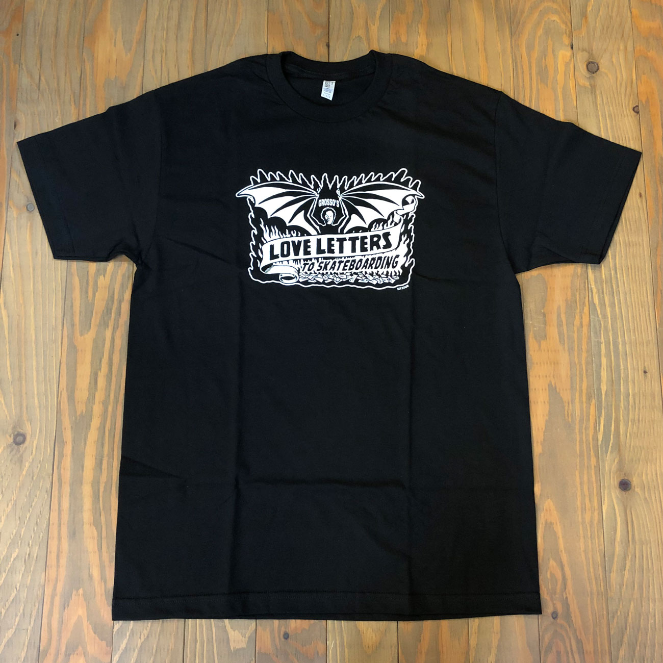 JEFF GROSSO DEMON TEE BLACK