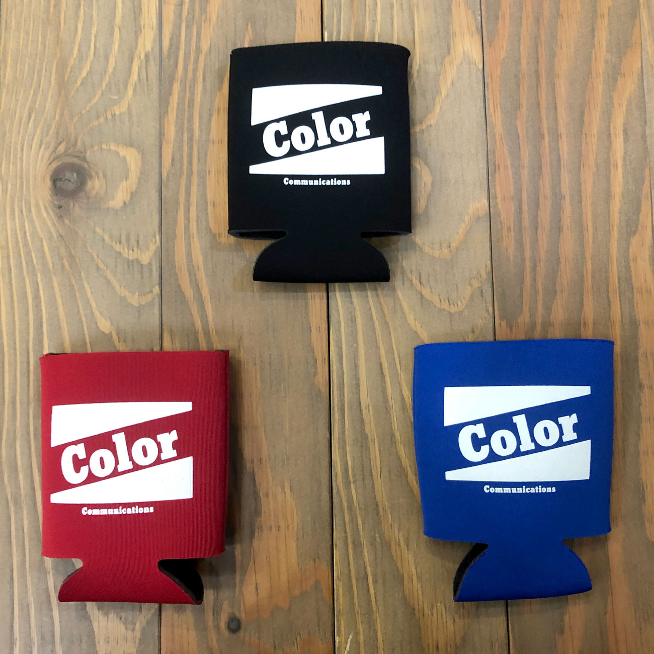 COLOR COMMUNICATIONS RETRO BAZ COOZIE