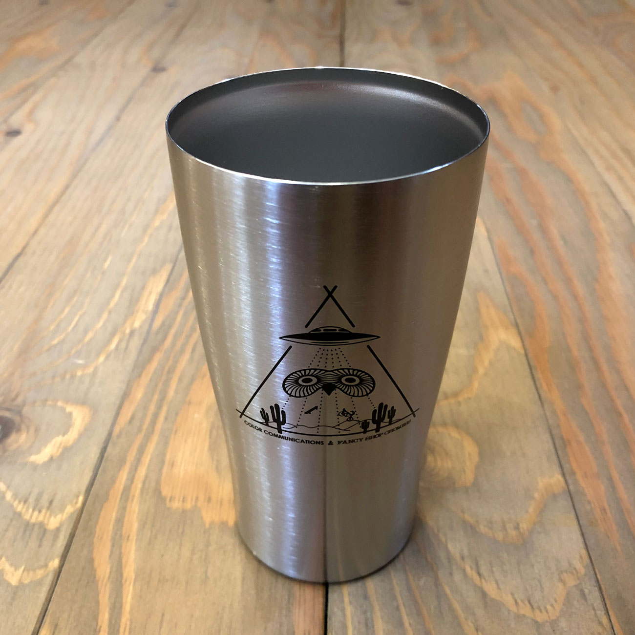 COLOR COMMUNICATIONS VACUUM STAINLESS TUMBLER FOR THE GOOD MOMENTS