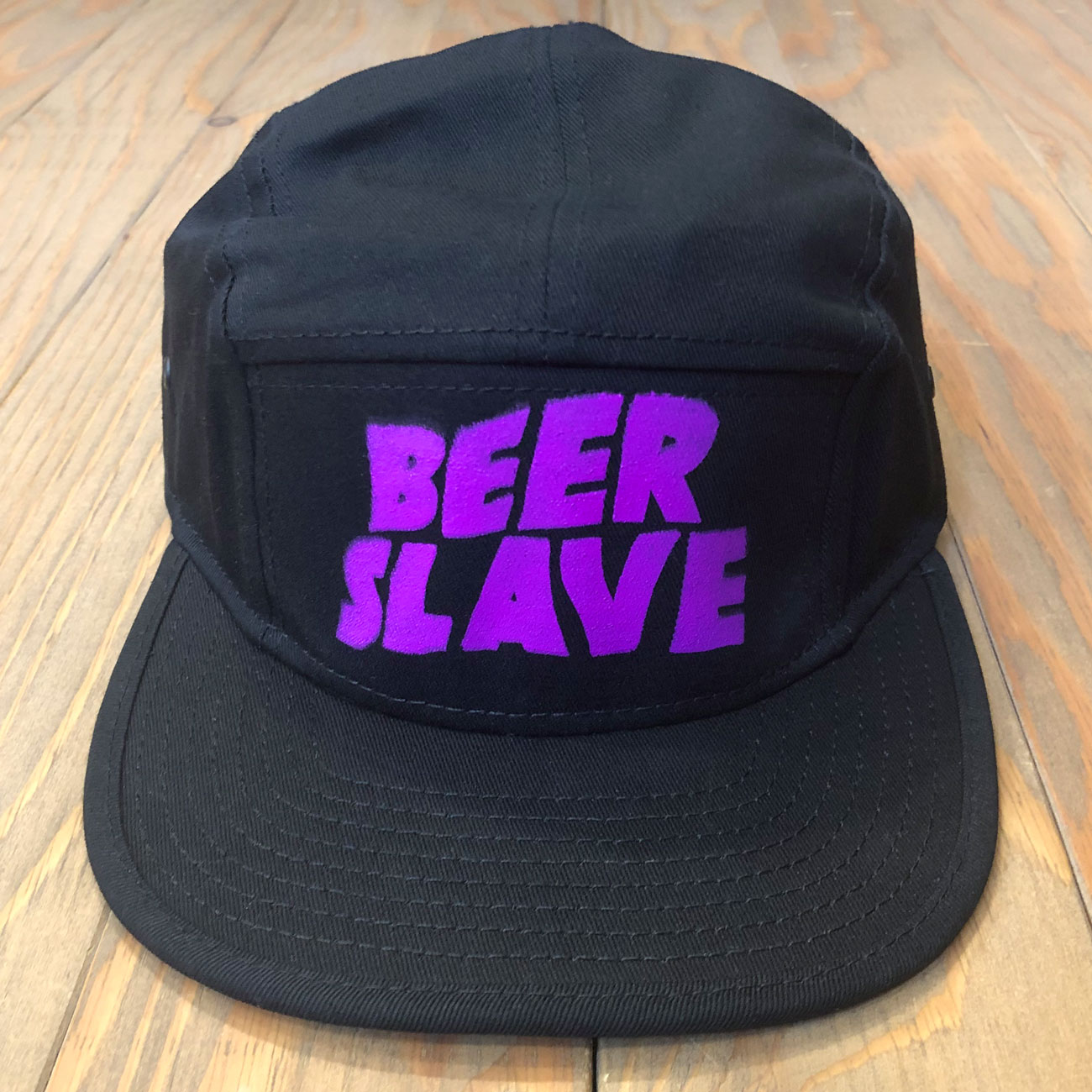BEER SLAVE BEER SABBATH CAMP CAP BLACK