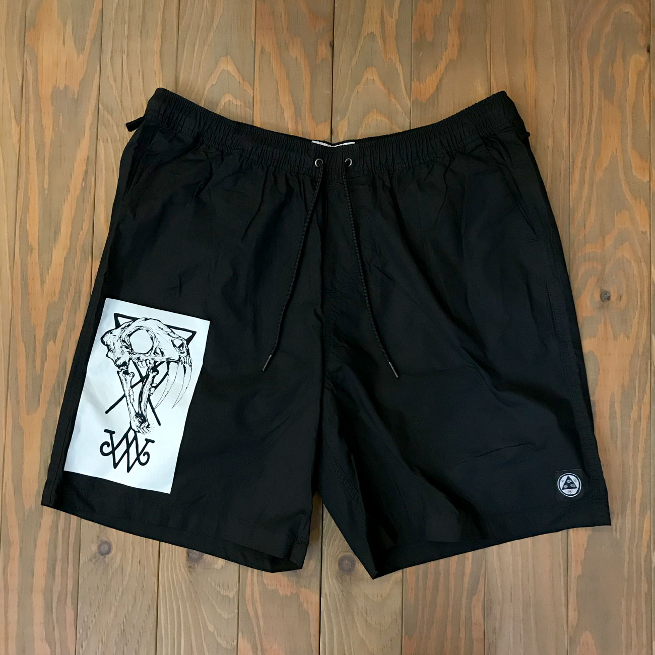 WELCOME SOFT CORE ELASTIC SHORT BLACK
