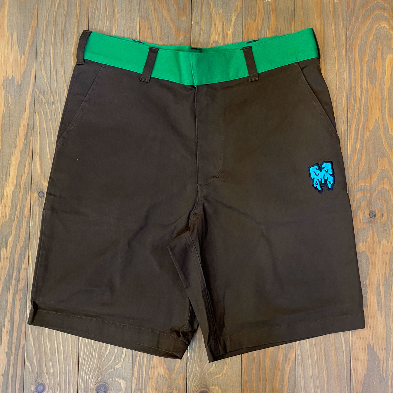 MxMxM WORK SHORTS 00 BROWN