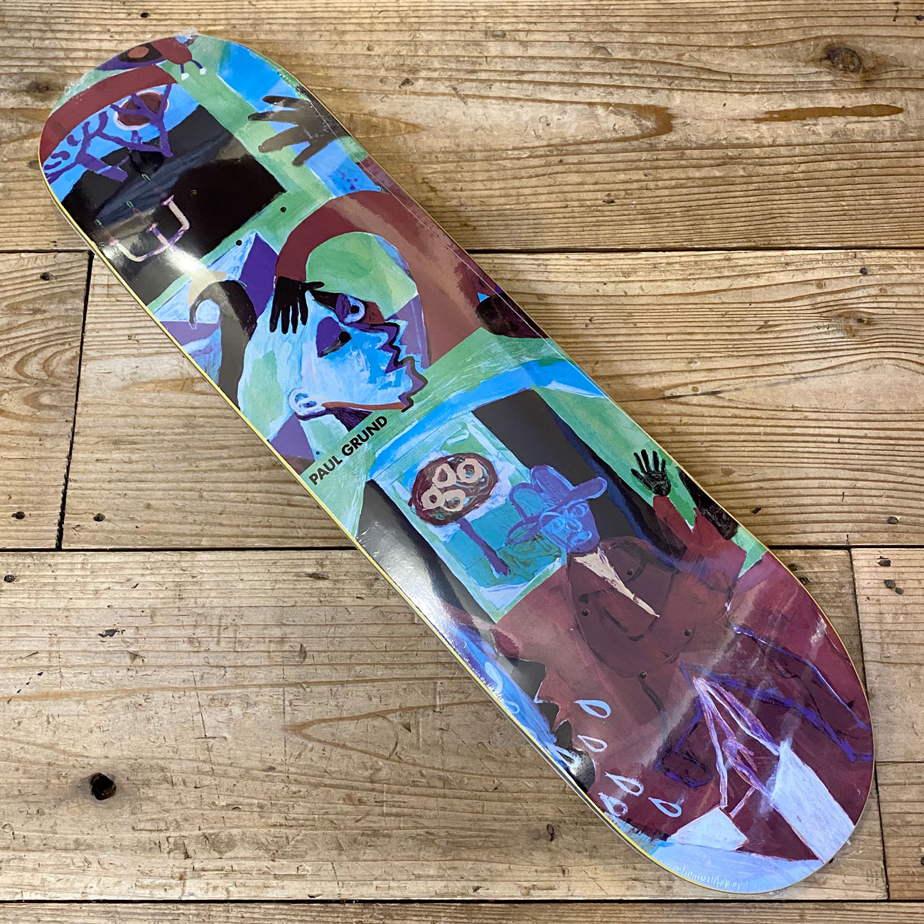 POLAR MOTH HOUSE DECK 8.125inch