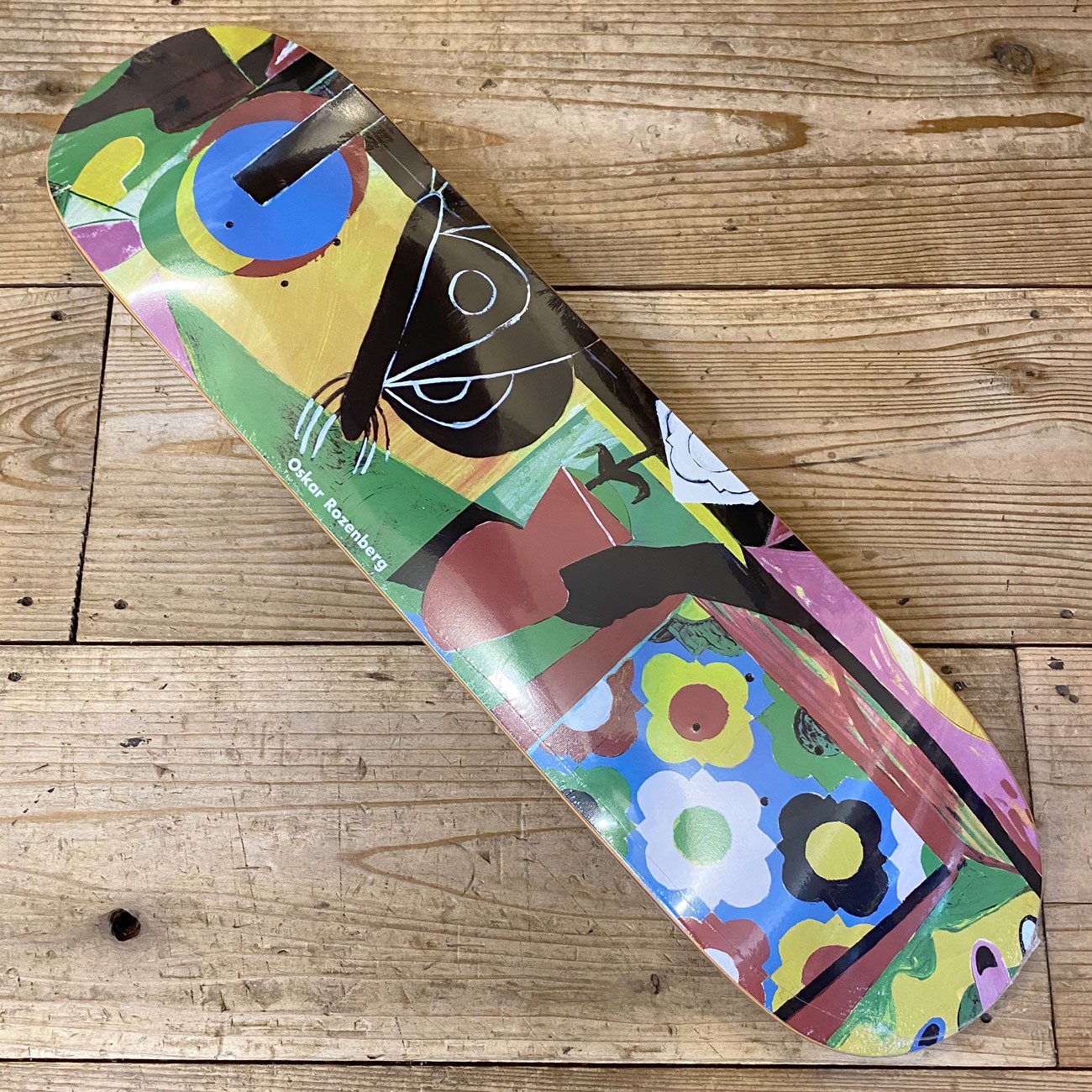 POLAR VASE & MOTH EVERSLICK DECK 8.0inch