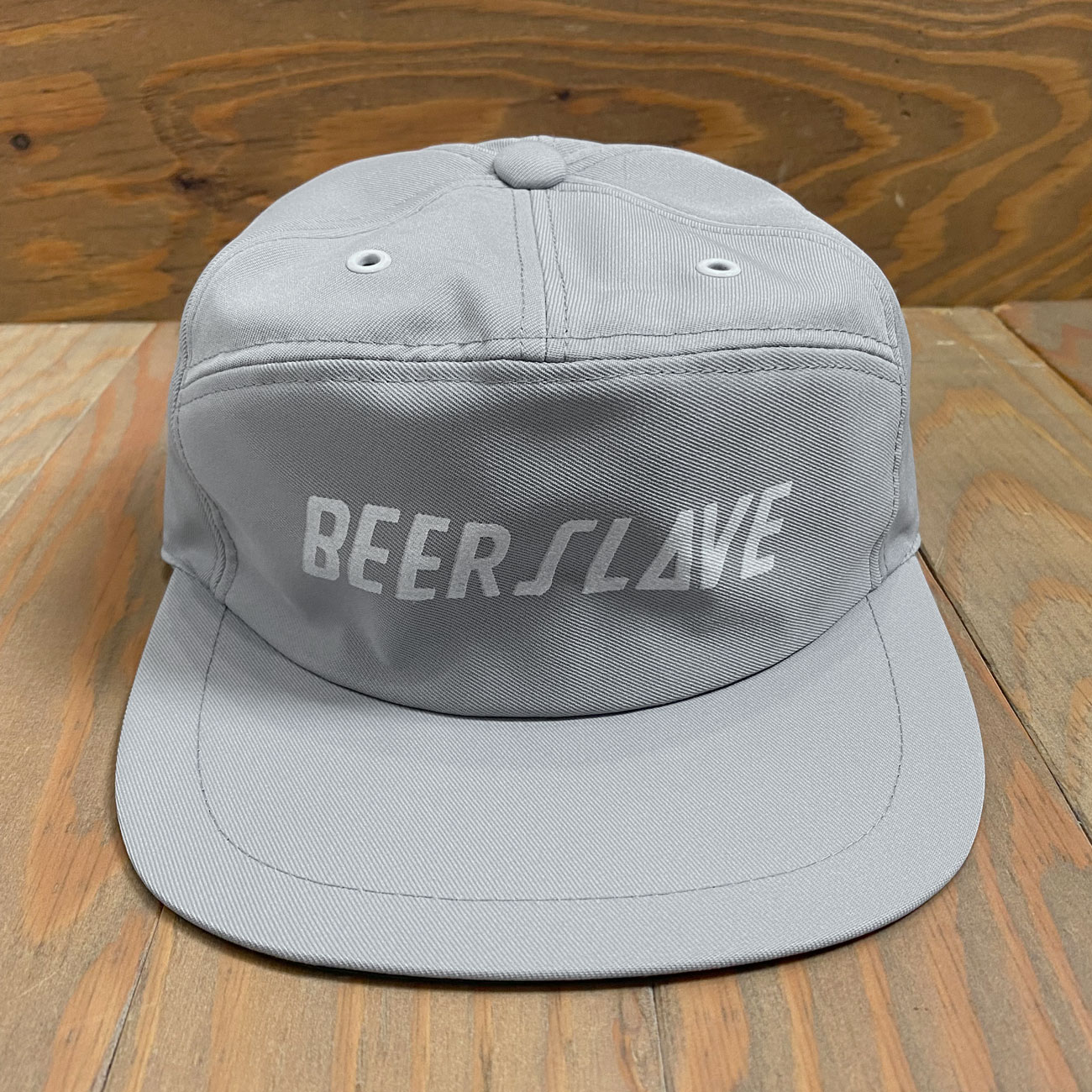 BEER SLAVE WORK CAP GREY