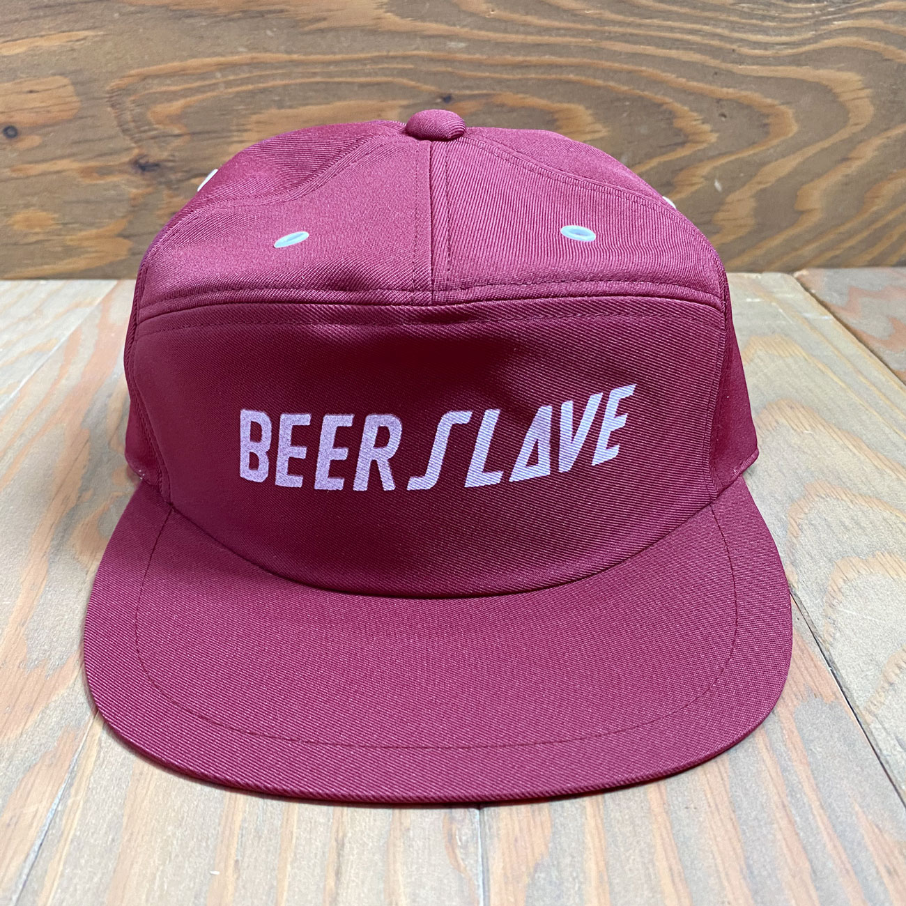 BEER SLAVE WORK CAP BURGUNDY