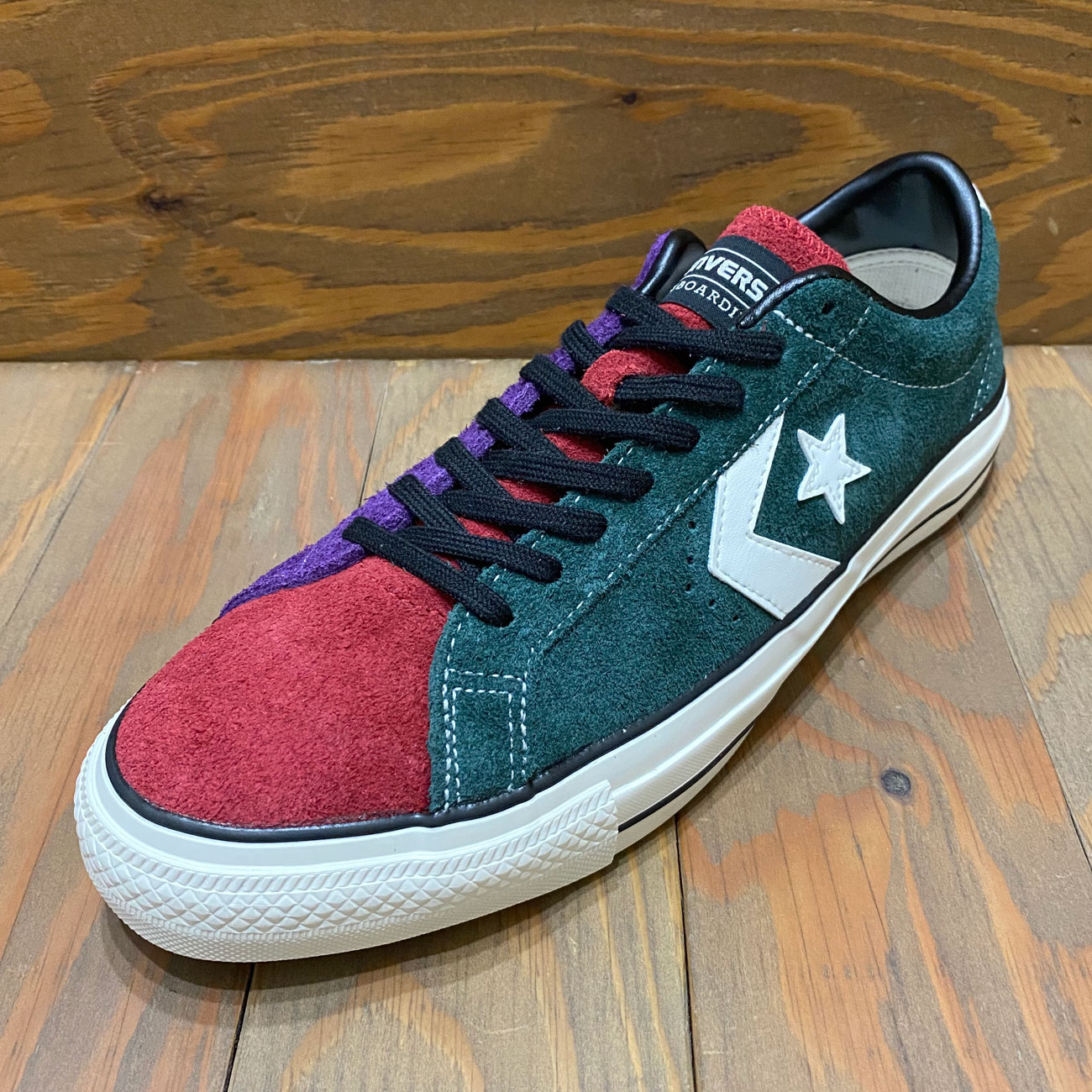 CONVERSE PRORIDE SK OX + GREEN/RED/PURPLE