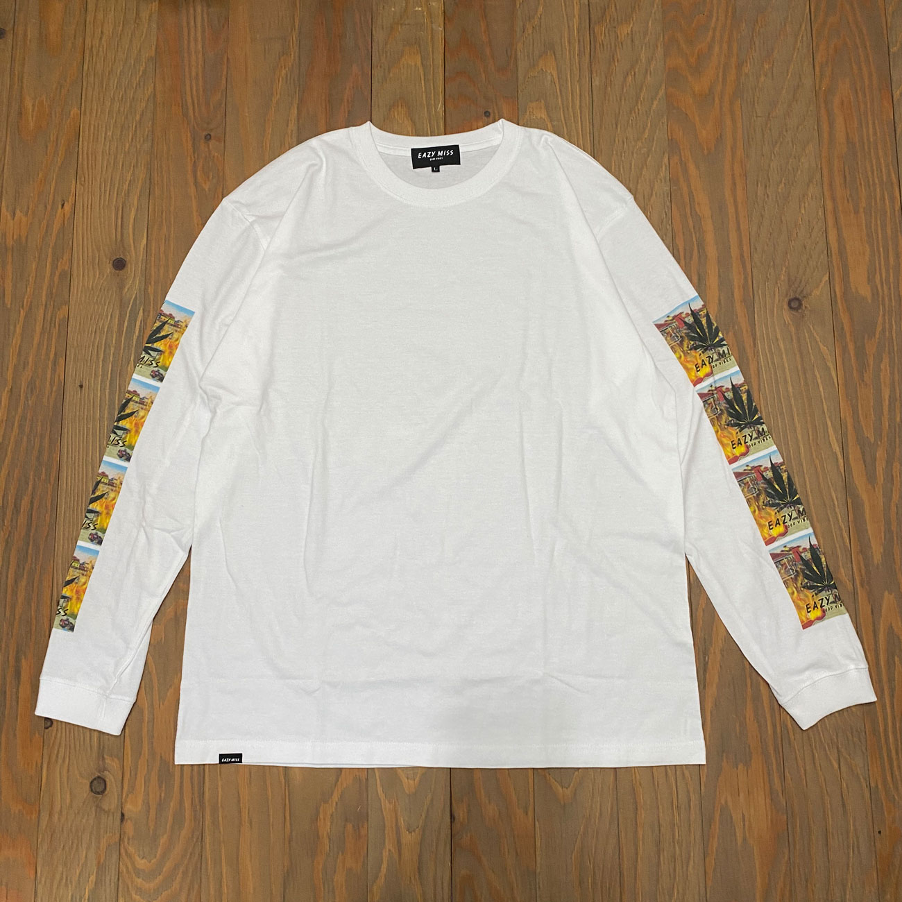 EAZY M!SS INCENSE L/S TEE