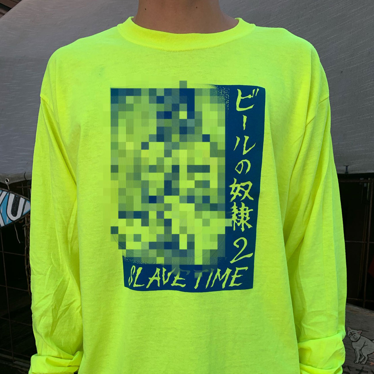 BEER SLAVE ビールの奴隷2 L/S TEE