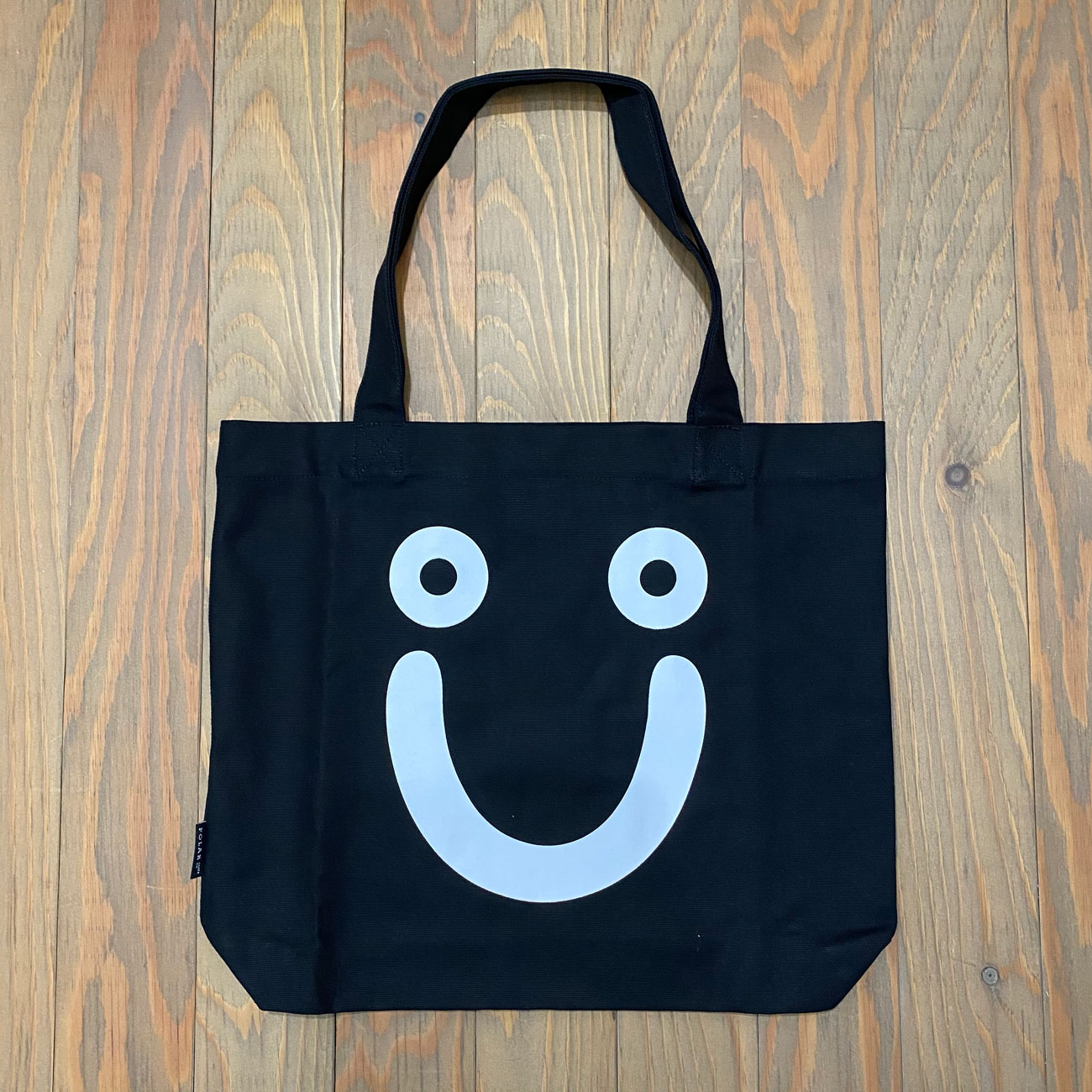 POLAR HAPPY SAD TOTE BLACK