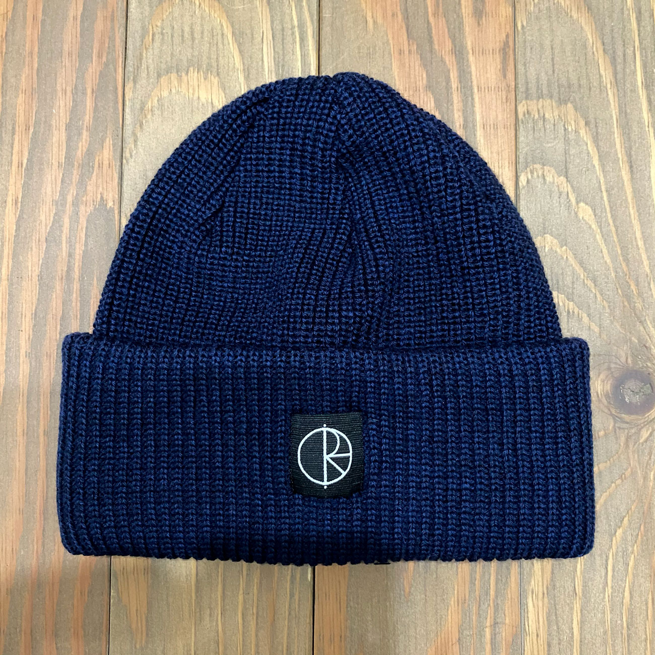 POLAR DOUBLE FOLD BEANIE NAVY