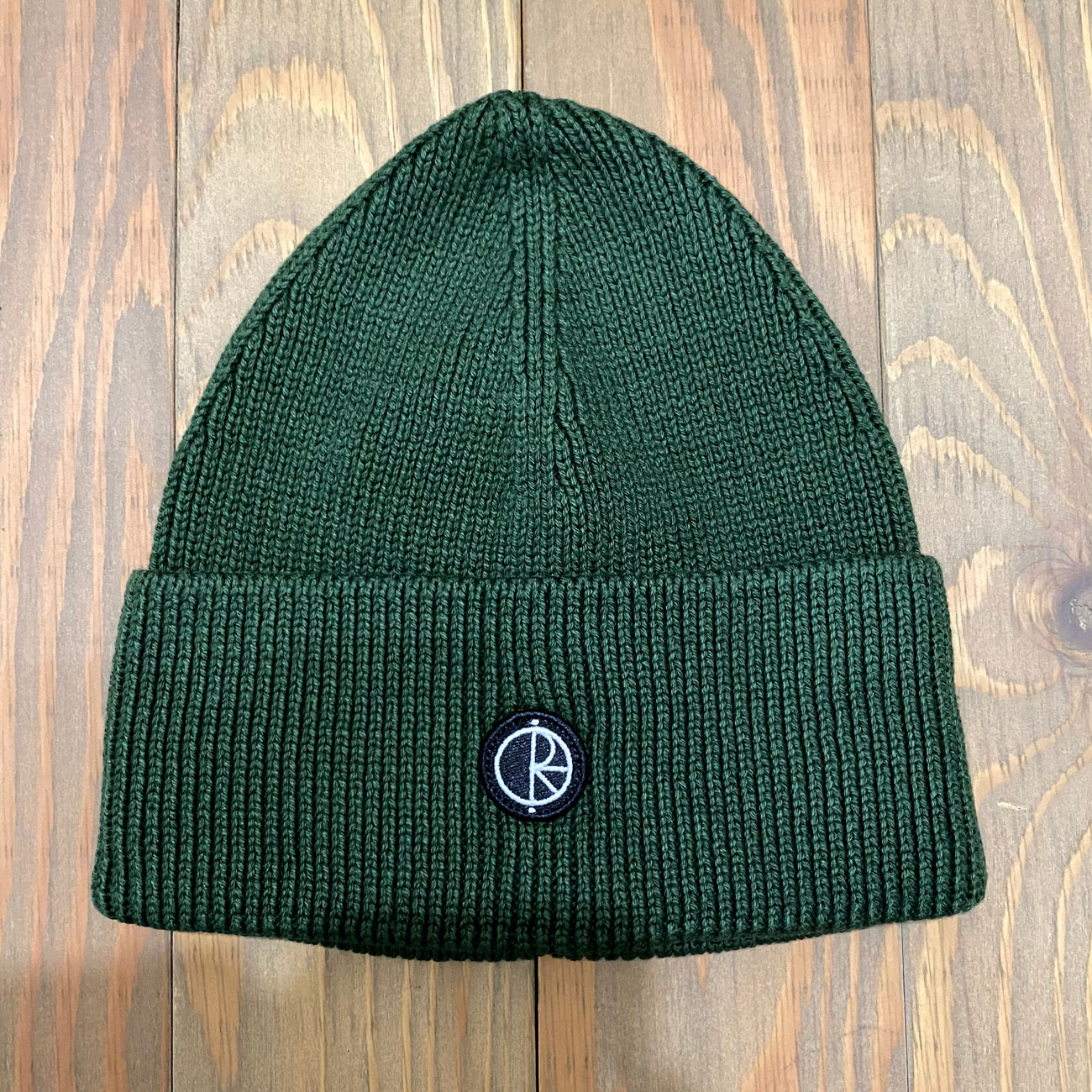 POLAR DRY COTTON BEANIE HUNTER GREEN