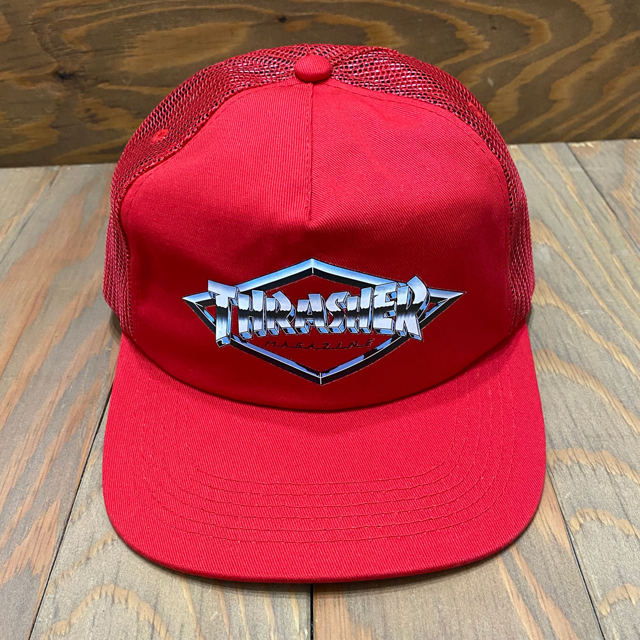 THRASHER DIAMOND EMBLEM CAP