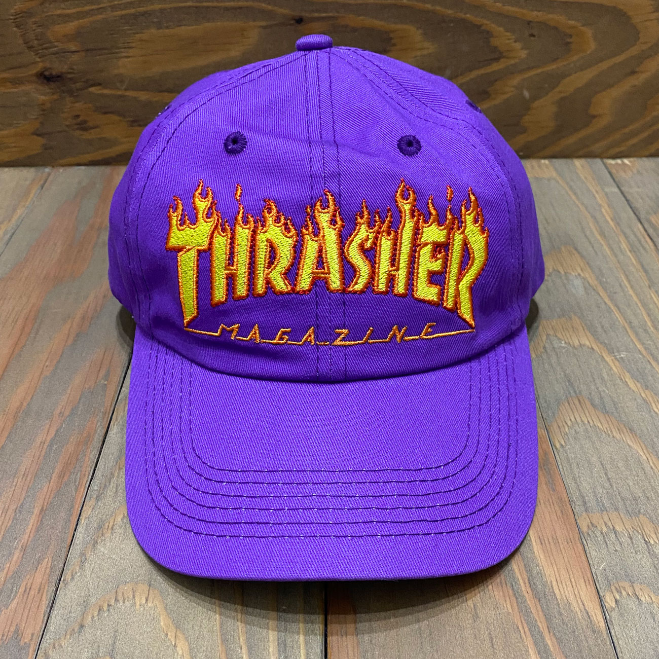 THRASHER FLAME OLD TIMER HAT CAP