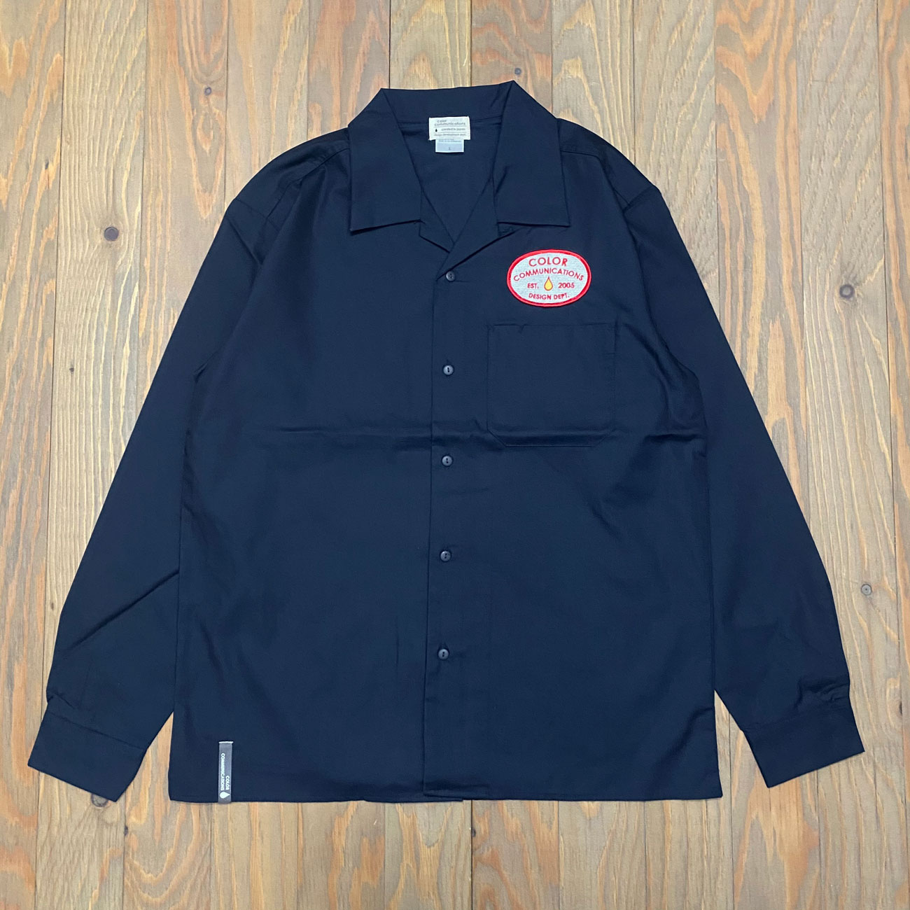 COLOR COMMUNICATIONS STATION PATCH WORK SHIRTS