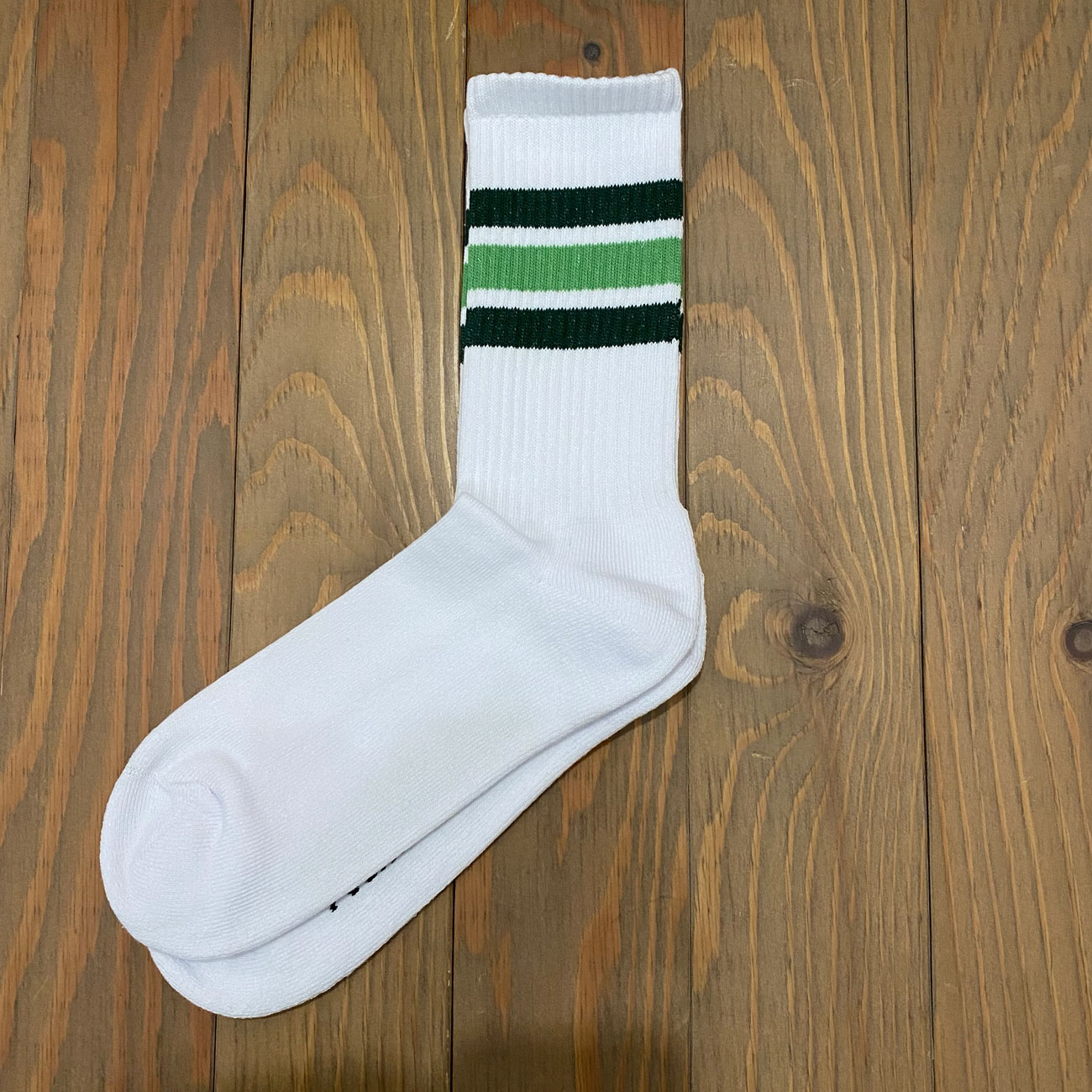 POLAR STRIPE SOX WHITE/GREEN