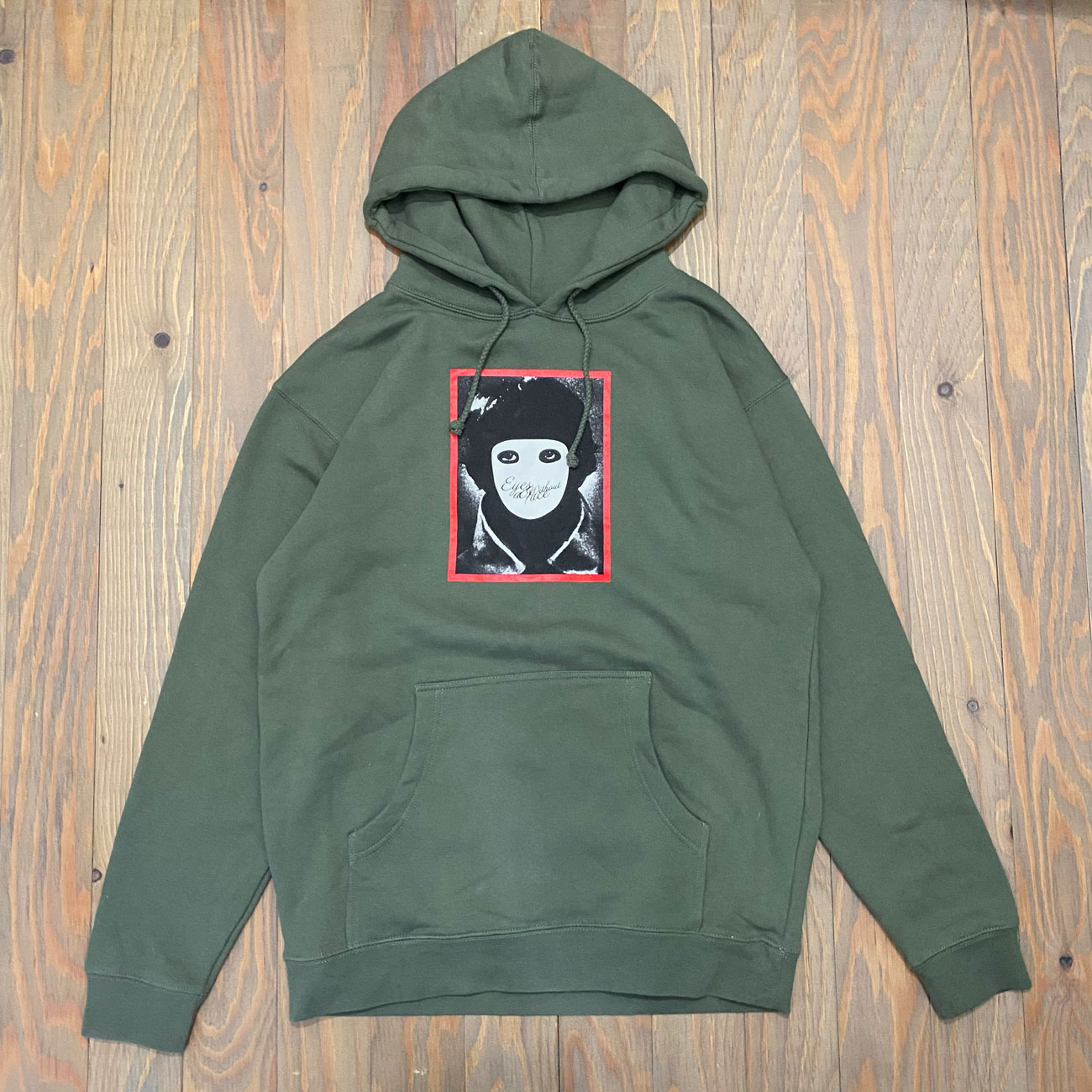HOCKEY EYES WITHOUT A FACE HOODIE