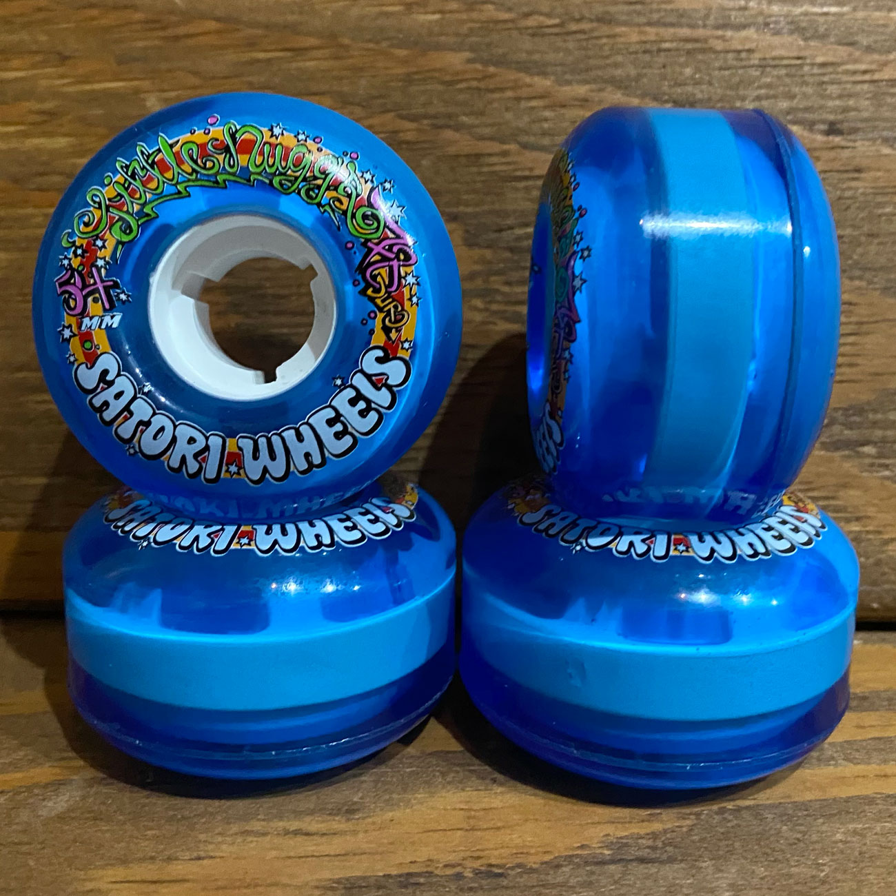 SATORI LIL NUGS V2 78A 54mm BLUE