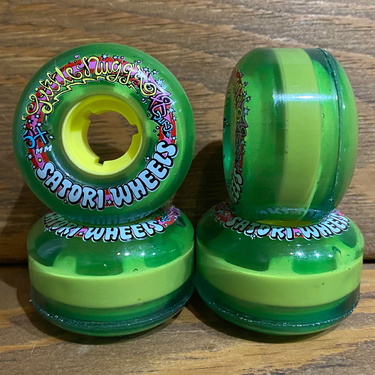 SATORI LIL NUGS V2 78A 54mm GREEN