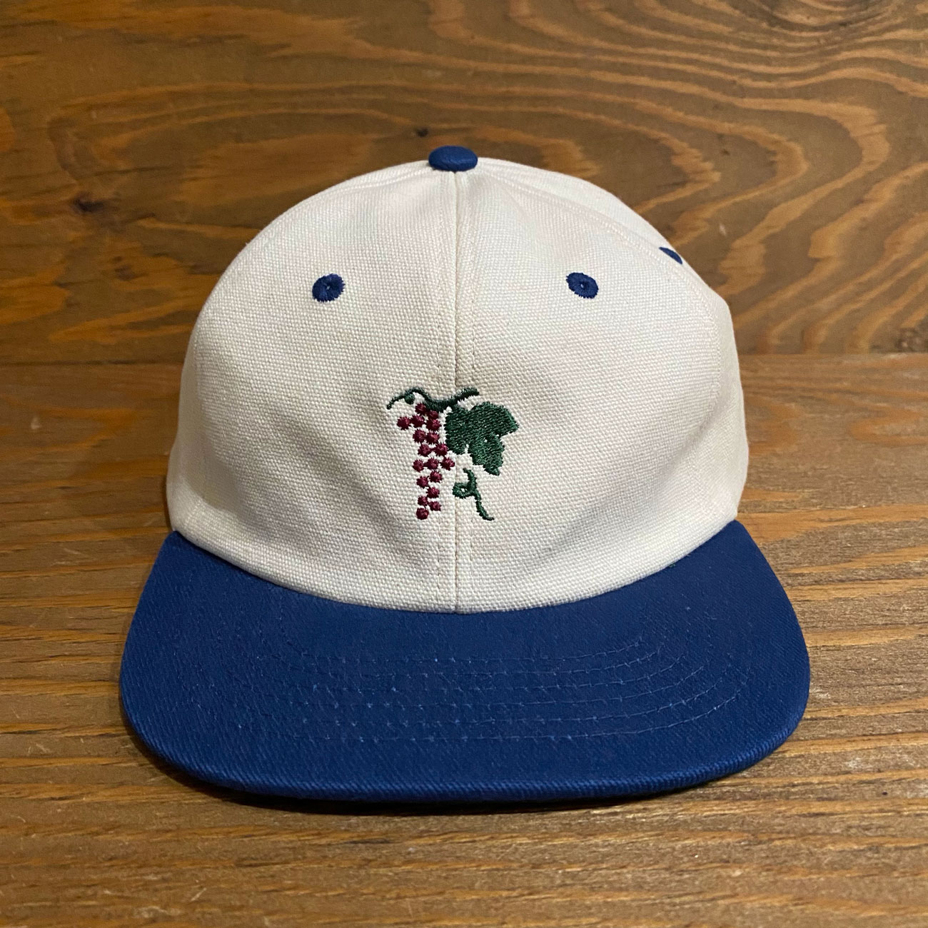 PASS~PORT LIFE OF LEISURE 6PANEL CAP ROYAL/NATURAL