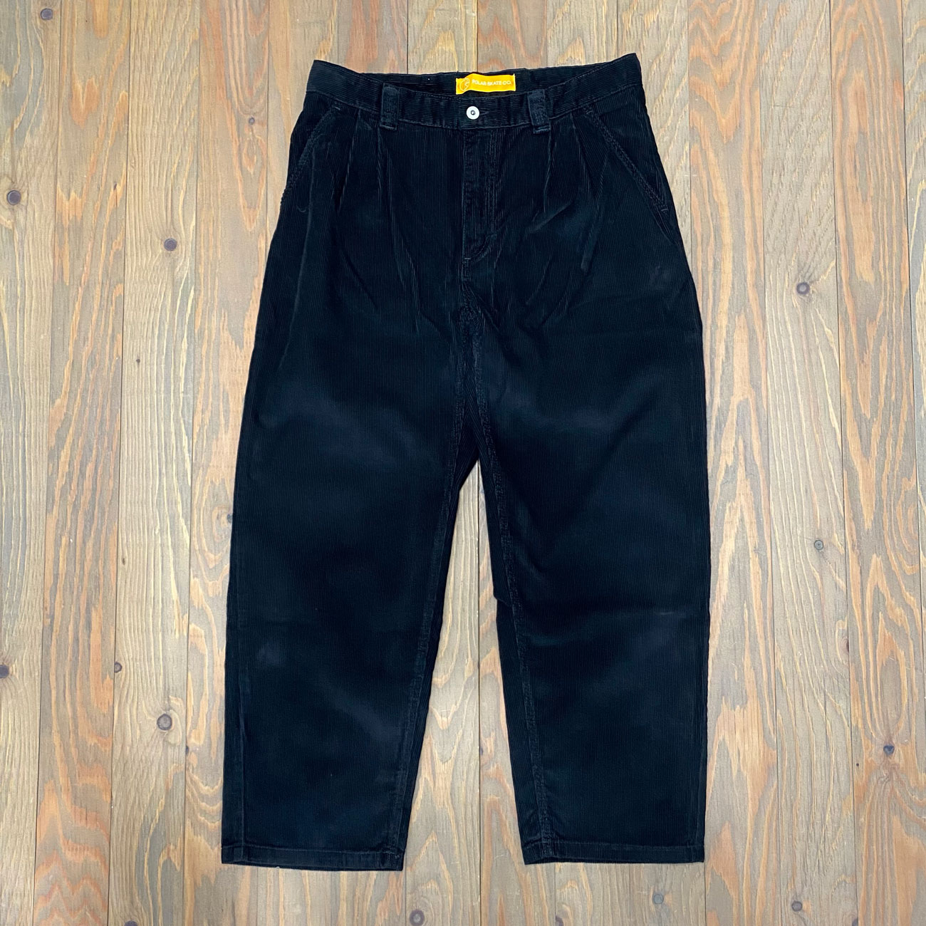 POLAR GROUND CHINOS PANTS BLACK